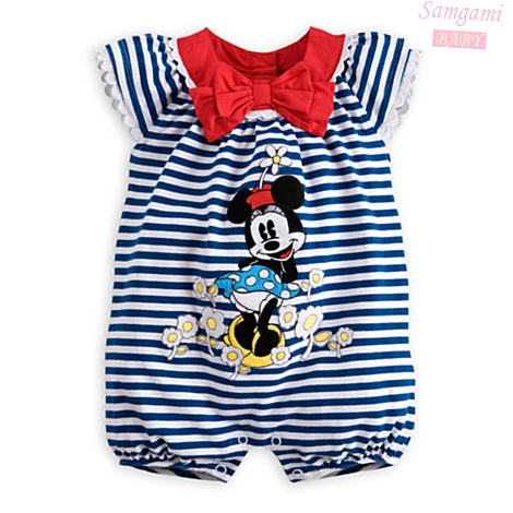 Black Stripes Cute Cartoon Body Baby Jumper for Girl Romper Kids Overall Summer 2014 New Born Infant Clothes Bebe Clothing Wear puseky 2017 infant romper baby boys girls jumpsuit newborn bebe clothing hooded toddler baby clothes cute panda romper costumes