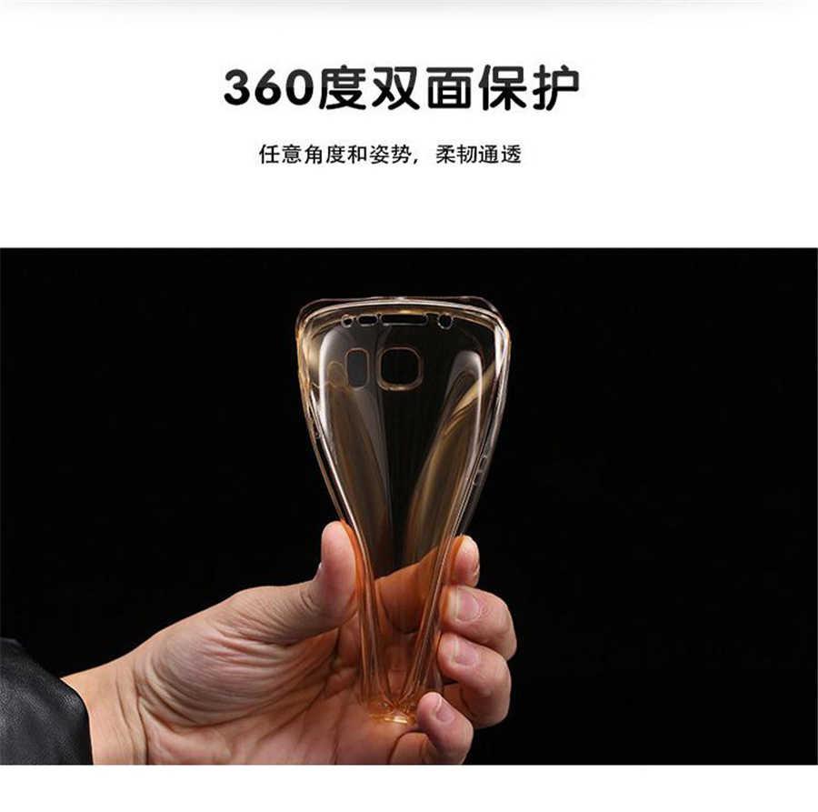 Claro Caso de Telefone Macio Para Samsung Galaxy A6 A8 Plus 2018 A3 A5 A7 J1 J3 J5 J7 2015 2016 2017 Neo Silicone Prime Cobertura Completa