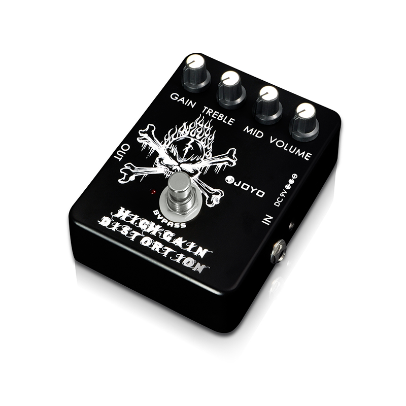 Guitar Effects JOYO JF 04 Electric Guitar Effect Pedal High Gain Distortion Metal Instrument Spare Part Effect Pedal Effect in Guitar Parts Accessories from Sports Entertainment