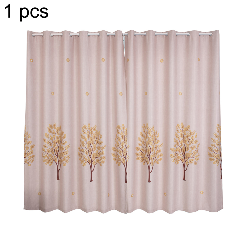 US $11.95 38% OFF|1*2.5 M New Fashion Printting Copper Tree Curtain Living  Room Printed Drapes Kitchen Curtains Floral Design Window Decoration-in ...