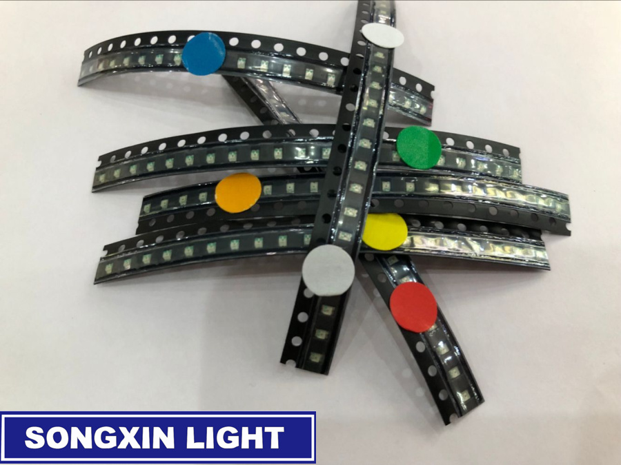 Red Jade-green Blue Yellow 600pcs Flash 0805 Led Diode Mixed Orange White 0805 Smd Leds Blinking Flashing Led Diod