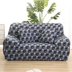 Популярная Современная печать диван покрытие анти-грязный полная плотно Обёрточная бумага диване чехол все включено чехлы для мебели укра...