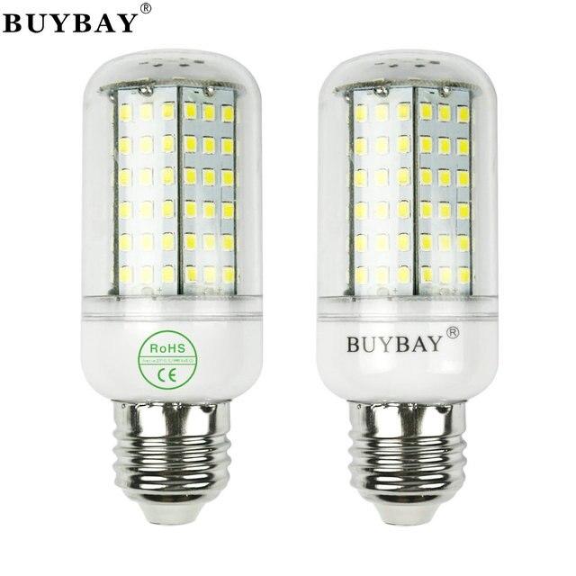 Buybay العلامة التجارية E27 E14 Led مصباح أس 220 فولت Linterna للكشف