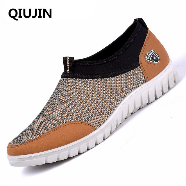 US $22 11 |QIUJIN 2018 Winter Running Shoes For Man Athletic Shoes Sport  Light Comfortable Shoes slip on Designer Sneakers salomones men-in Running