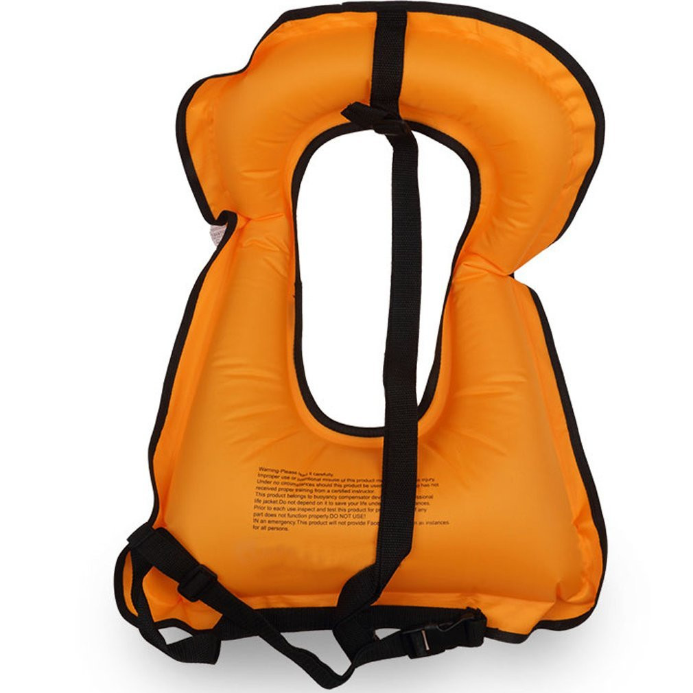 2017 New Mens Snorkeling Gear Swimwear Inflatable Adult