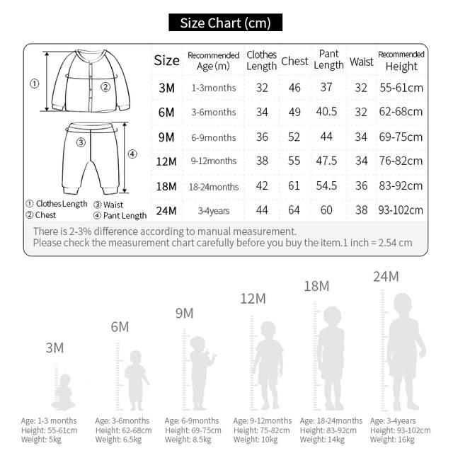 146d3b214000 Online Shop YOUQI 2 Sets Baby Boys Clothes Girls Clothing Set ...