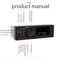 fm tf Dual USB Charging Car MP3 Player TF AUX Audio Input Wreless Remote Control Bluetooth LED Display Car MP3 FM Transmitter (4)