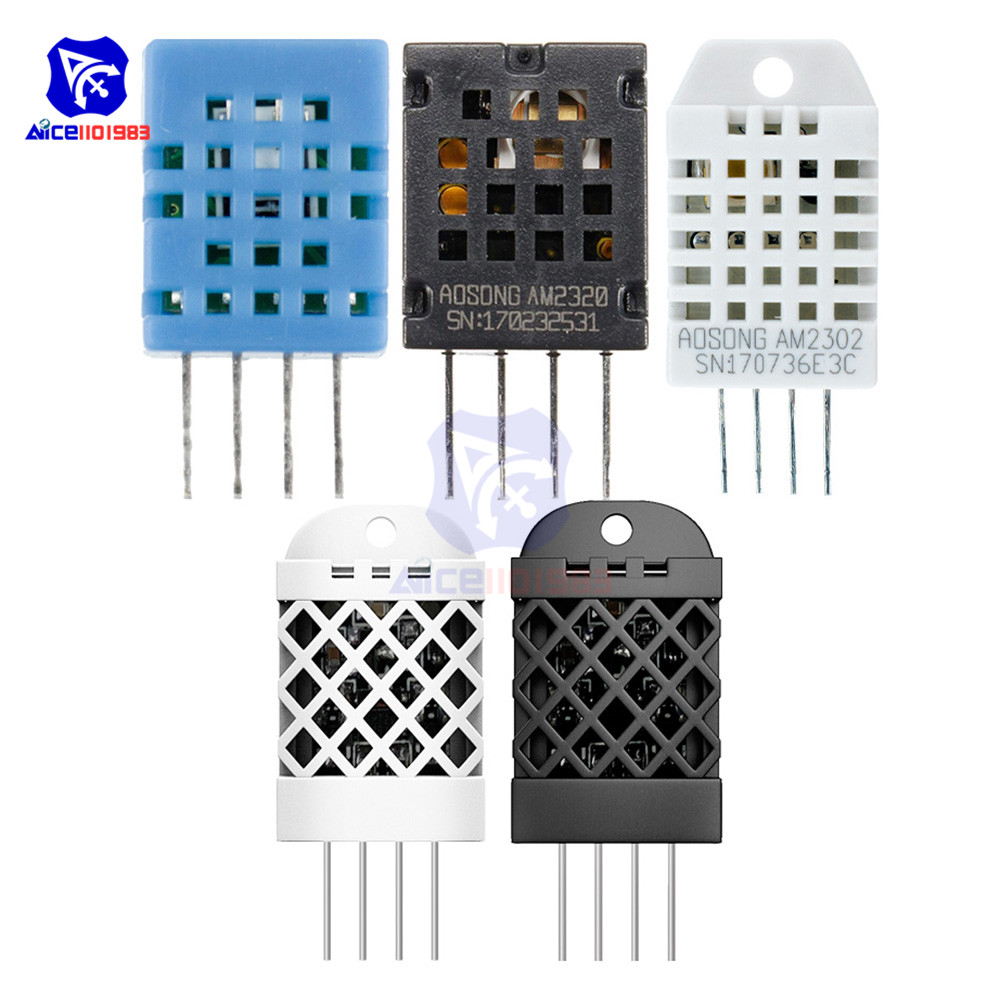 AM2302 DHT22 AM2320 DHT11 SHT20 Temperature Humidity Sensor Module Bus/I2C IIC Communication Signal Output For Arduino