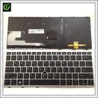 새로운 영어 백라이트 오리지널 키보드 hp 735 g5 830 g5 836 g5 마우스 포인트 블랙 us L07666-001