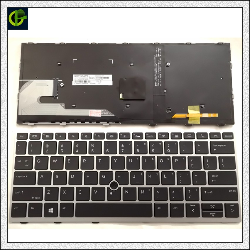 For HP Proboook 430 G5 440 G5 445 G5 Keyboard Frame No Backlit Spanish Teclado