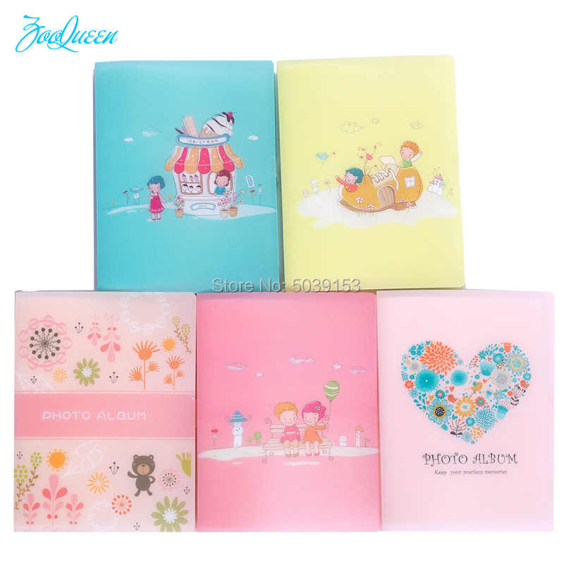 Simple Cute PP Series candy baby Color Photo Album hd Family Graduation Home Decor Album it is a Boy Girl Kid's Pictures Photos
