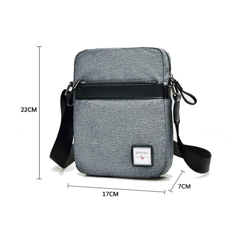 9ca5ee08c7bc 2018 New Fashion Quality Brand Men Bag Waterproof Oxford Messenger Bag  Business Casual Briefcase Crossbody bag male shoulder bag