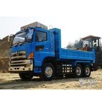 1/14 dump truck Hino700 full drive 6X6 hydraulic F frame hydraulic cylinder dump truck model LS 20130014 RCLESU Tamiya truck