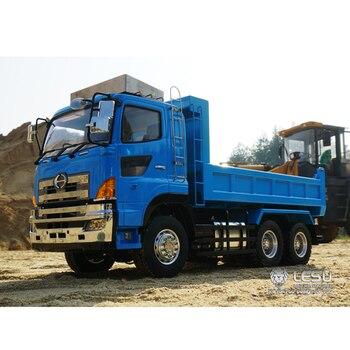 1/14 dump truck Hino700 full drive 6X6 hydraulic F frame hydraulic cylinder dump truck model LS-20130014 RCLESU Tamiya truck