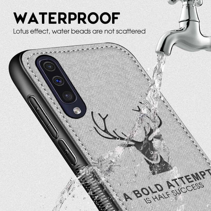 Ốp Lưng dẻo Dành Cho Samsung Galaxy Samsung Galaxy A70 A50 A30 A10 M30 M10 A8S A7 A6 A750 2018 Vải Capa Cho S10Plus s10 S9 J3 J4 J5 J6 J7 Pro Note 9