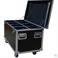 Flight Case Flycase For 8pcs LED Wash Moving Head Light Good Quality Fast Shipping Free