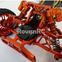 Rovan алюминиевые передние ударные башни поддерживает подтяжки перегородки подходит HPI Baja 5B 2,0