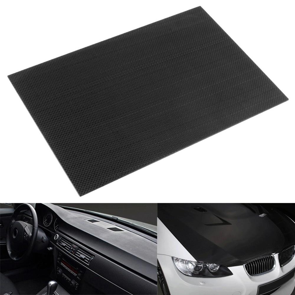 3 K Plain Weben 100% Real Carbon Platte/panel/blatt Starren Webart Oberfläche Platte Bord Zubehör üBereinstimmung In Farbe