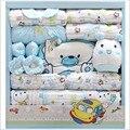 17 Piece Newborn Gift Set Outono E Inverno de Algodão Roupas Meninas Do Bebê & Baby Boy Infantil Cueca