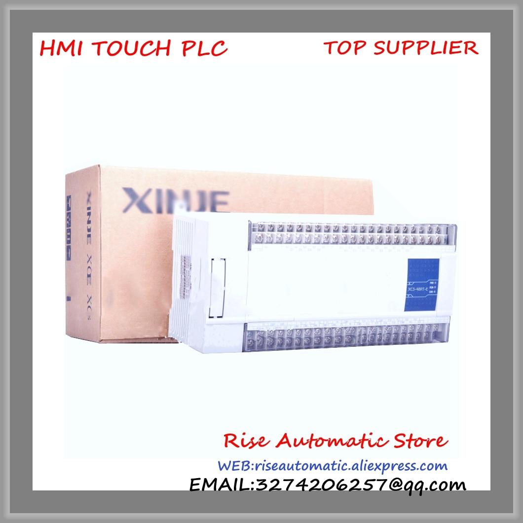 XC3-48RT-E New Original PLC CPU AC220V 28 DI NPN 20 DO Relay&Transistors