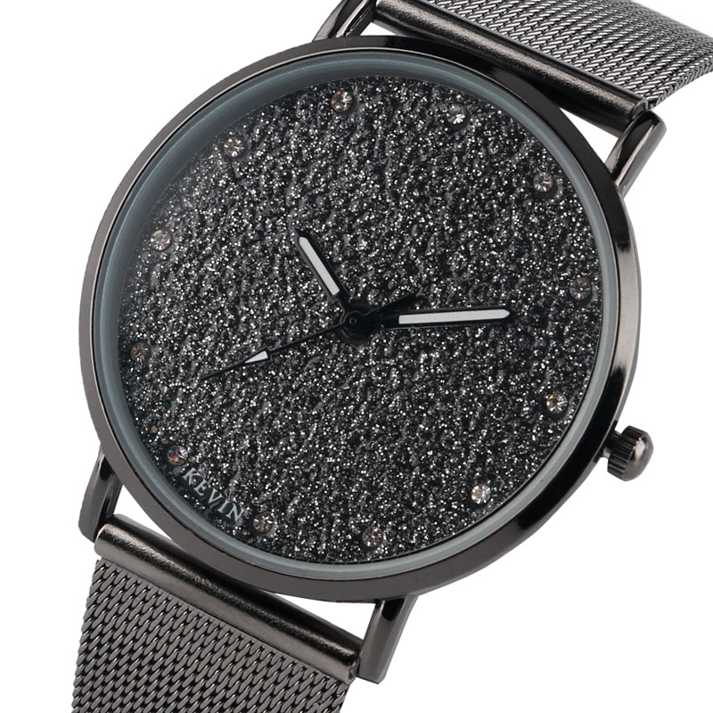 KEVIN Bling Watches for Women Fashion Minimalist Mesh Band Strap Stylish Casual Elegant Girl Ladies Wristwatches Quartz Clock kevin alan milne heategu mis muutis kõike