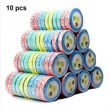 10 шт./лот, наружные полотенца для путешествий, портативные, не одноразовые, сжатые полотенца, нетканые, эко полотенца s