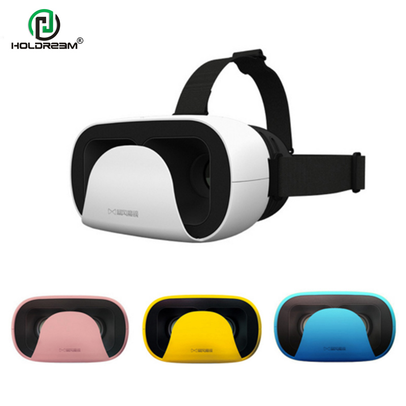 """2016 Baofeng Mojing XD 3D <font><b>VR</b></font> <font><b>Glasses</b></font> Virtual Reality Helmet Cardboard Box <font><b>for</b></font> iPhone 6 6S <font><b>Plus</b></font> & Android 5 - 6"""" Smartphone"""