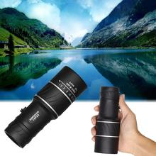 Cheapest prices Outdoor camping bird watching 16X52 night vision Hiking Concert Camera Lens Monocular Telescope hiking hunting