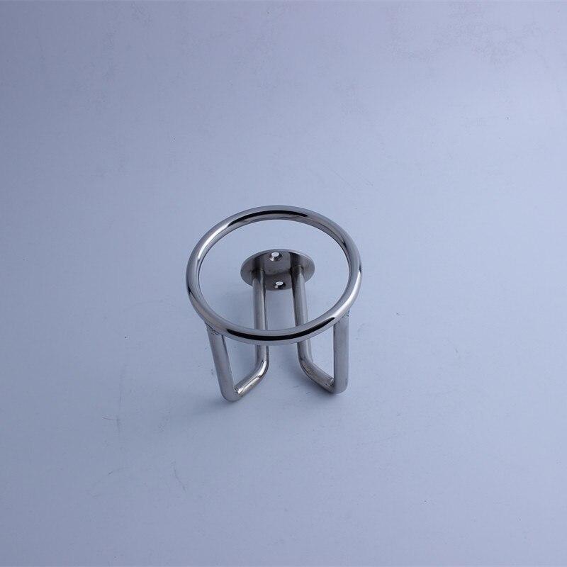 Купить с кэшбэком High Quality 361 Stainless Steel 2X Boat Ring Cup Holder Ringlike Drink Holder For Marine Yacht