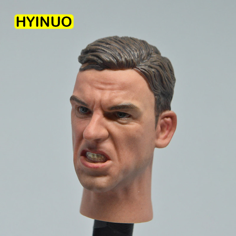 1/6 Scale First World War World War II Soldier Angry Edition Ugly Expression Head Sculpt Headplay for 12 Action Figure Body