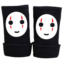 2016 Winter Anime Spirited Away Cotton Glove Half Finger Wrist Cartoon Gloves Mitten Unisex Cosplay Gift