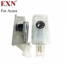 2 шт. ВОДИТЬ Автомобиль Дверь Добро пожаловать света любезно лампы автомобилей лазерный проектор логотип Призрак Тень Свет для Honda Acura MDX TL ZDX