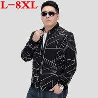 חדש בתוספת גודל 8XL 7XL 6XL 5XL המעיל מקרית החדש של גברים מעיין באיכות גבוהה גדול סיטונאי מעיל מעיל זכר רזה רגילה גודל