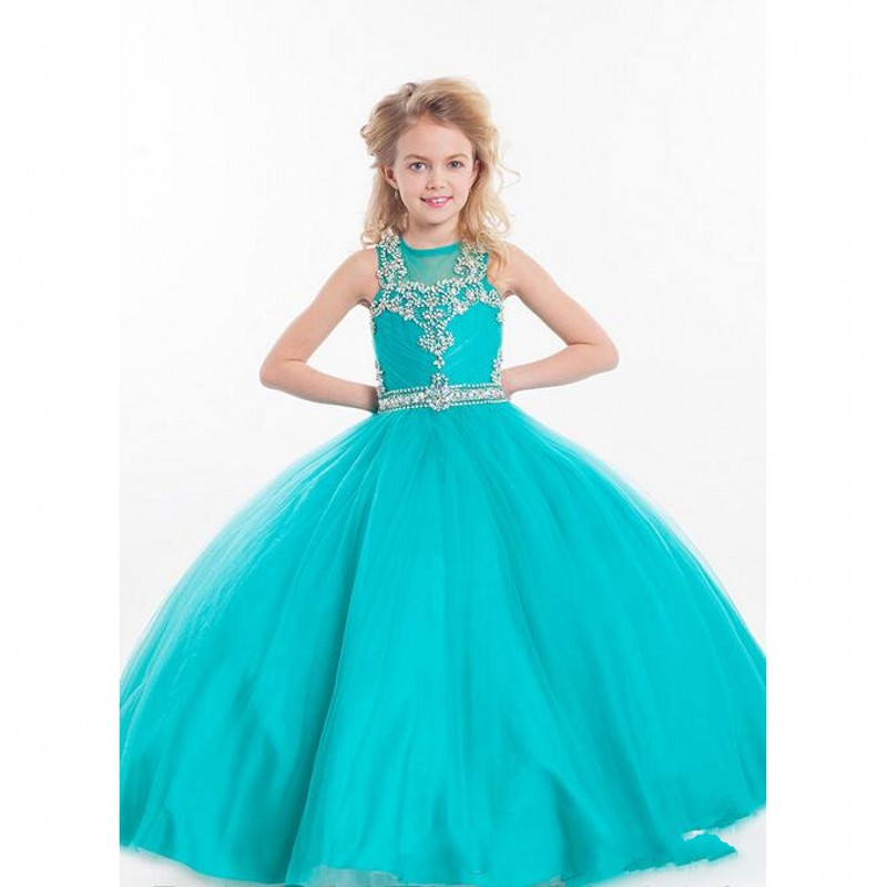 Cheap Turquoise Flower Girl Dresses - Bridesmaid Dresses- photo #50
