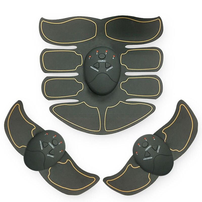 EMS Muscolo Addominale Trainer Smart ABS Stimolatore Sculpting Massager Pad di Fitness Palestra Braccio Adesivi Perdita Del Corpo Che Dimagrisce Massager