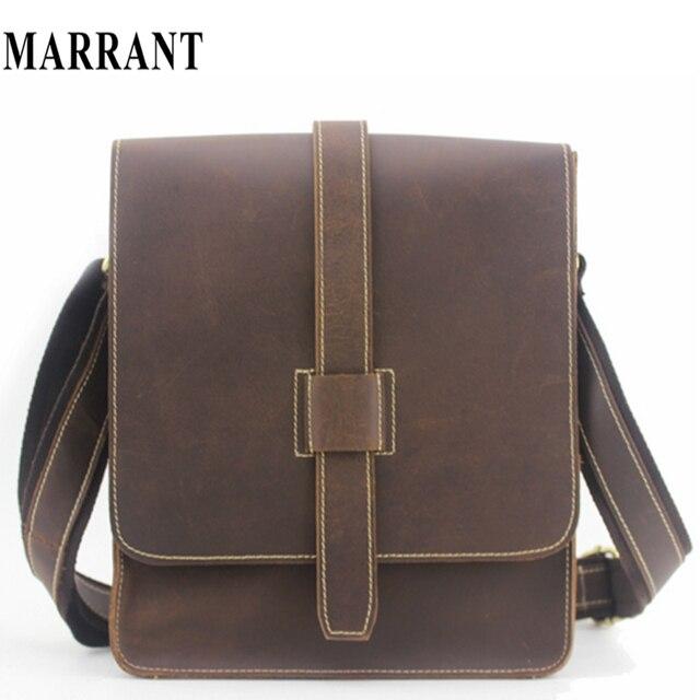 Manufacturers wholesale men messenger bags briefcase Crazy Horse Leather  Satchel Bags men s travel bag leather shoulder 3965ffdd1dcc9