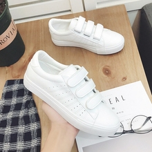 5e3f307761 ... 2018 summer new fashion women shoes casual high platform hole PU  leather striped simple women casual ...