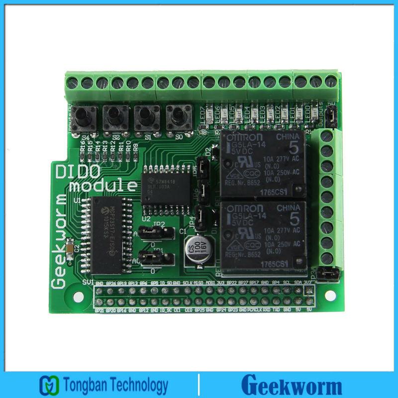 Prix pour Raspberry Pi 3 Numérique Entrée Sortie Carte D'extension DIDO Module pour Raspberry Pi 3 Modèle B/2B/B +/A +