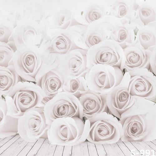 2.5 (w) X4.5 (h) M Bagus Latar Belakang Portabel Elegan Mawar Putih Potret  Fotografi Latar Belakang, Promosi Background Vinyl 8x15ft backdrop  Frame backdrop Muslinbackdrops Beautiful - AliExpress