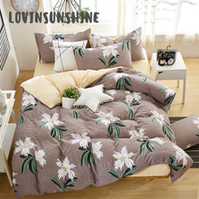 LOVINSUNSHINE Duvet Cover Set Cotton Bed Sheet And Pillowcase Comforter Bedding Sets King AB#31