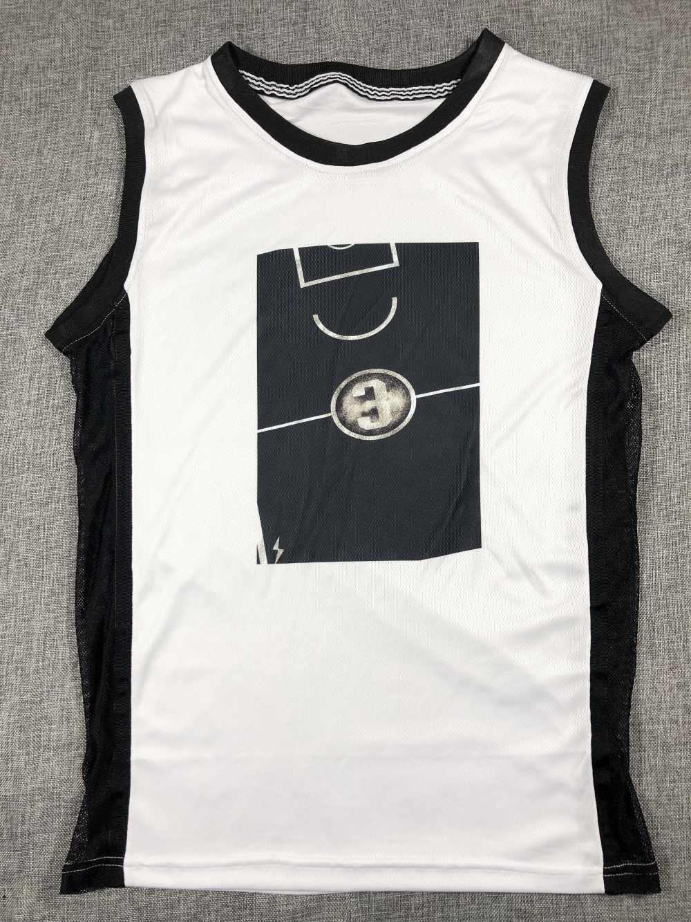 SYNSLOVEN Men miami Basketball Jersey top Uniforms heat no.3 dwyane wade Sports  clothing mesh 3085e75fd