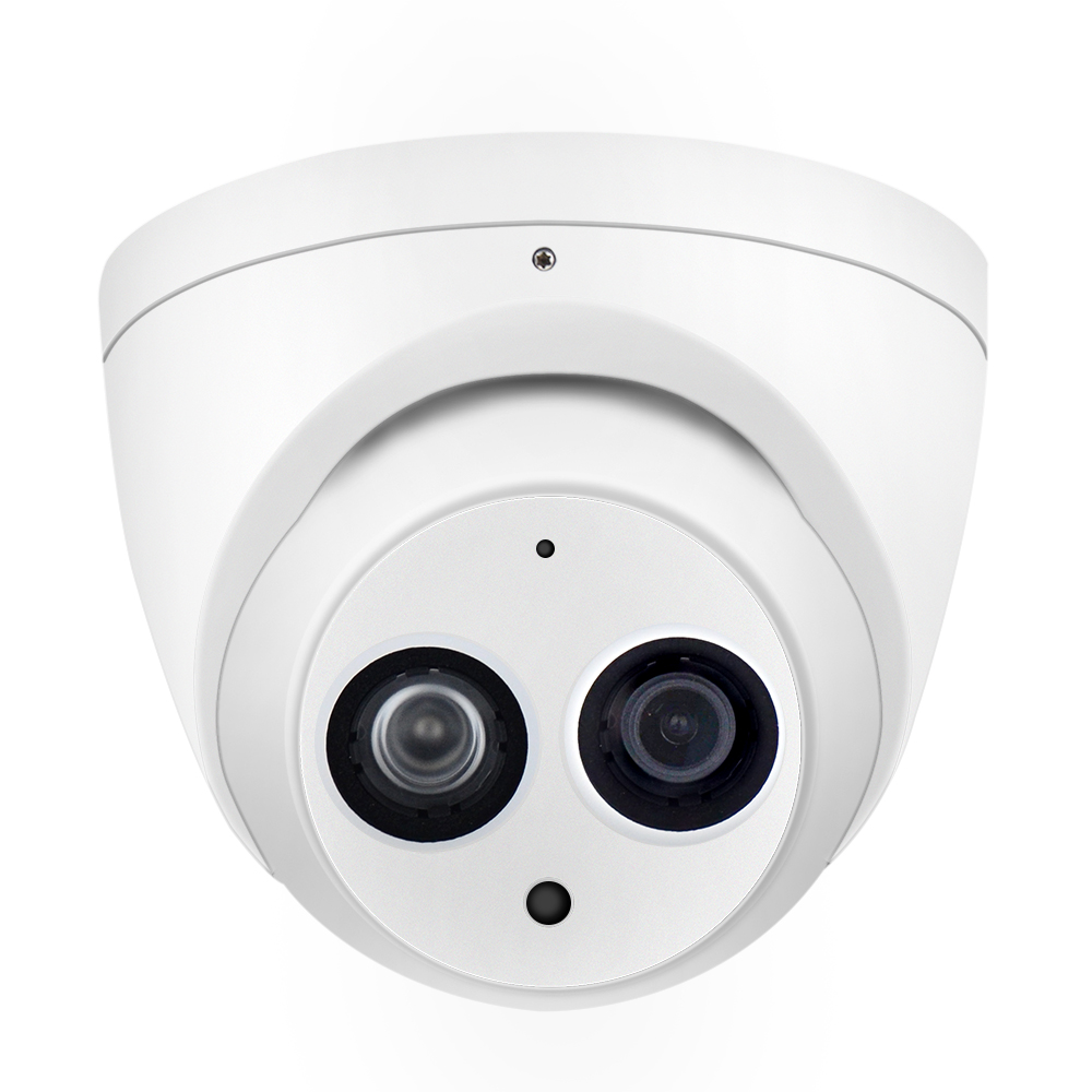 DH 6MP IP Camera IPC-HDW4631C-A Upgrade From IPC-HDW4431C-A POE Network Mini Dome Cam Built-in MIC CCTV Camera Metal 8pcs/lot