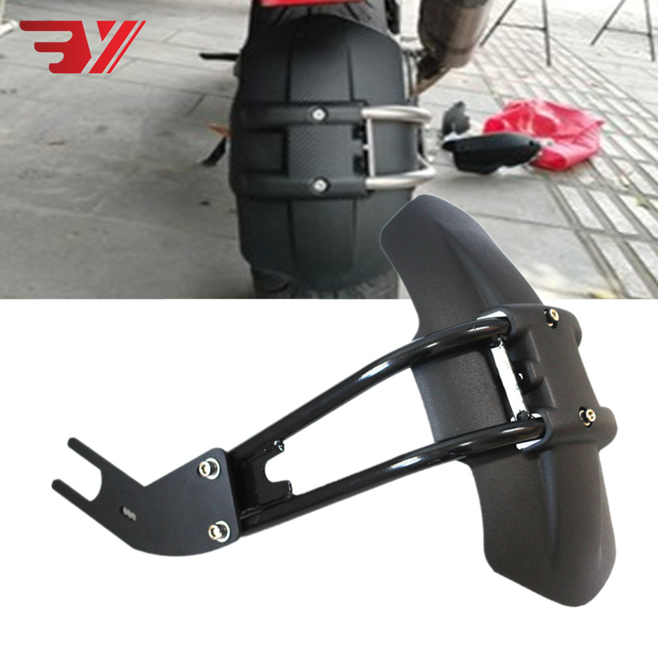 For KTM DUKE 125 For KTM 200 390 690 RC 390 Motorcycle Accessories metal & ABS Plastic Rear Fender Bracket Motorbike Mudguard image