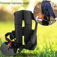 M Type Durable Nylon Double Shoulder Harness Lawn Mower Strap Grass String Trimmer Brush Cutter Harness Belt Garden Power Pruner