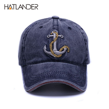 [HATLANDER]Brand washed soft cotton baseball cap hat for women men vintage dad hat 3d embroidery casual outdoor sports cap 1