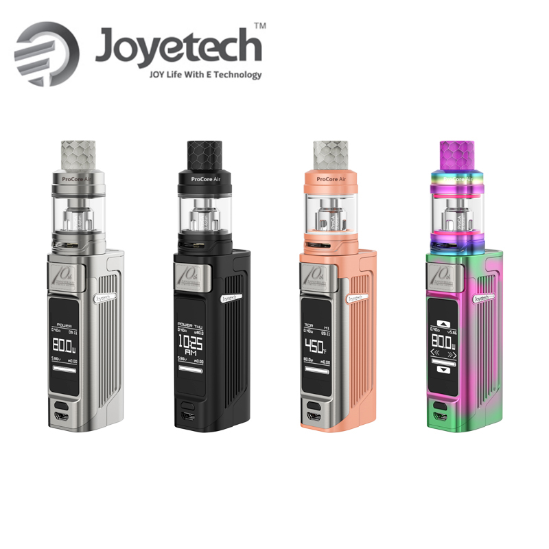 Original Joyetech Espion Solo With 4 5ml ProCore Air Tank Vaper Electronic Cigarette Vape Kit 80w