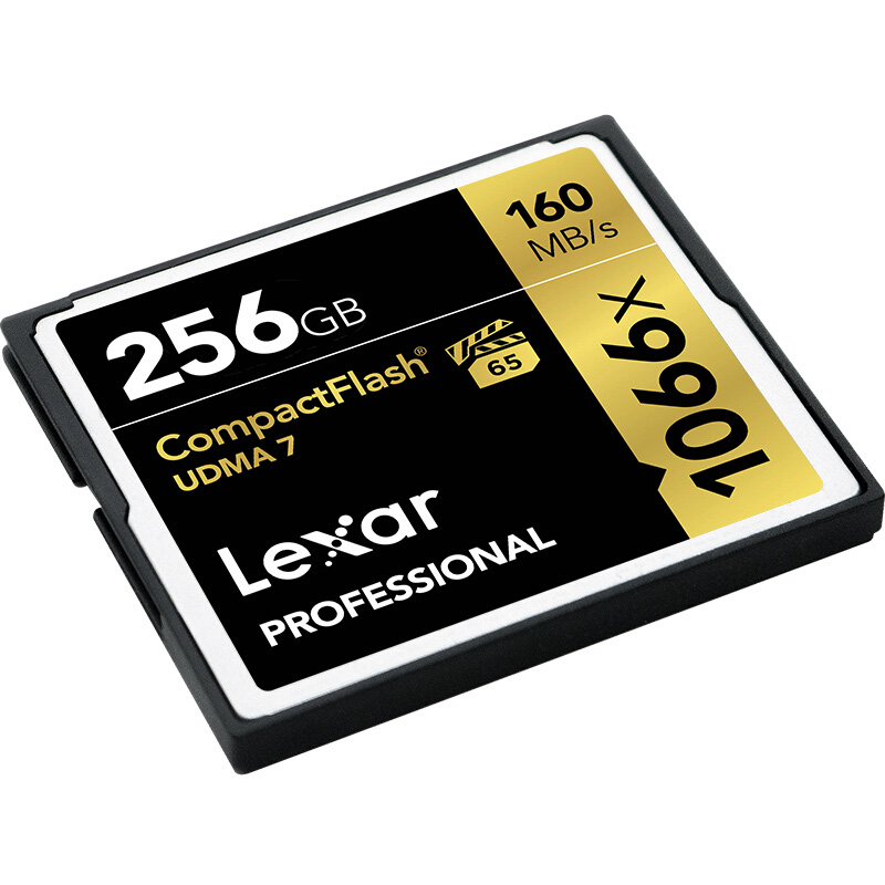 Image 2 - 100% Original Lexar CF Card 1066x Memory Flash Card 256GB High Speed 160MB/s cartao de memoria For UHD 4K Video Camera memoria-in Memory Cards from Computer & Office