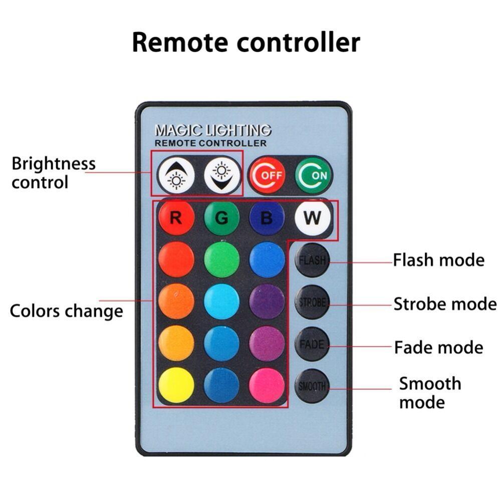 H11 H8 2pcs RGB LED Luzes Do