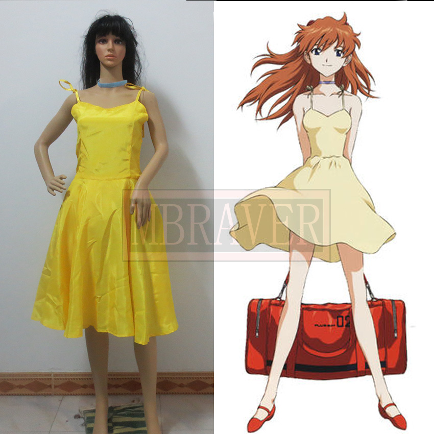 Soryu Asuka Langley Ayanami Rei Neon Genesis Evangelion Cosplay Costume Custom Made Any Size