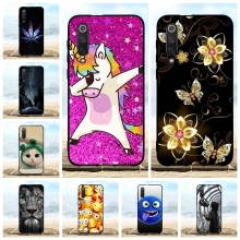 For Xiaomi Mi 9 SE Cover Ultra Thin Soft TPU Silicone Phone Case Animal Pattern Funda Bag